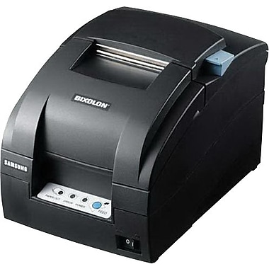 BIXOLON ® Black SRP-275A 80 x 144 dpi 5.1 lps USB 9 Pin Serial Impact Dot Matrix Mini Receipt Printer