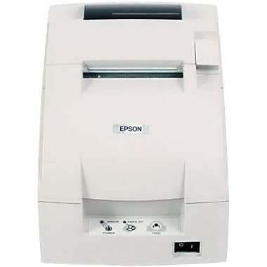 EPSON® TM-U220D EDG 4.7/6 lps At 40/30 Columns 9 Pin Serial Impact Dot Matrix Receipt Printer