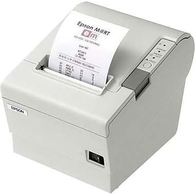 EPSON® TM-T88V ECW 300 mm/sec Serial And USB Thermal Line Dot Single Station Receipt Printer