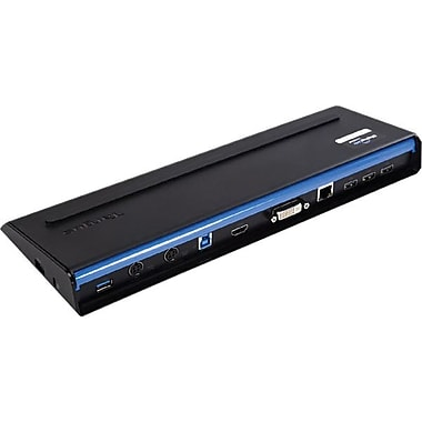 SuperSpeed™ 90 W Adapter RJ-45 USB Dual Video Docking Station With Power