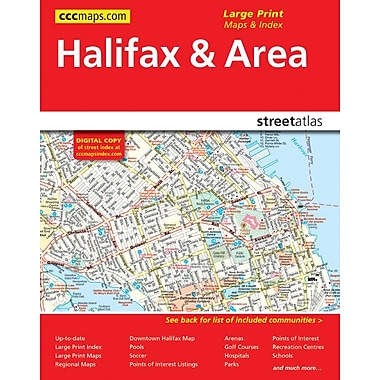 MapArt 2013 Halifax and Area Street Guide