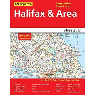 MapArt – Guide routier, Halifax et environs 2013