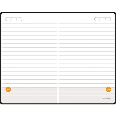 2014 AT-A-GLANCE® Perfect-Bound Planning Notebook Lined with Monthly Calendars, 3 3/8in. x 5 3/8in.