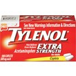 TYLENOL Pain Relief Extra Strength Caplets, 500 mg, 100 Count/Box (Model:44909)