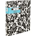 Martha Stewart Home Office™ with Avery™ 1in. Heavy Paper Binder with Slant-D Ring, Black Damask