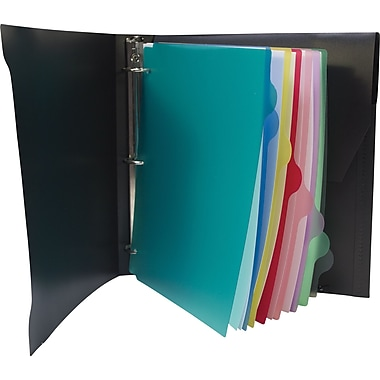 1-1/2 in. Storex® Organizer Binder,  Black
