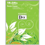 "Dax U-Channel Poster Frame, Clear, 18"" x 24"""
