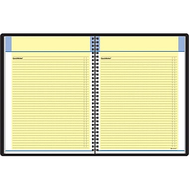 "2014 AT-A-GLANCE® QuickNotes® Monthly Planner, 8 1/4"" x 10 7/8"""