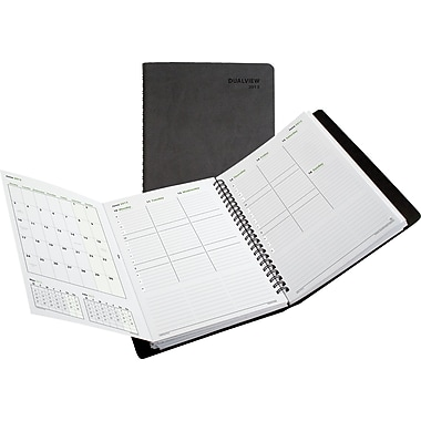 "2014 Day-Timer® DualView Weekly/Monthly Appointment Book, 5 1/2"" x 8 1/2"""
