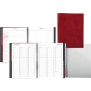 2015 Day-Timer® Fashion Weekly/Monthly Appointment Book, 8 x 11, Red