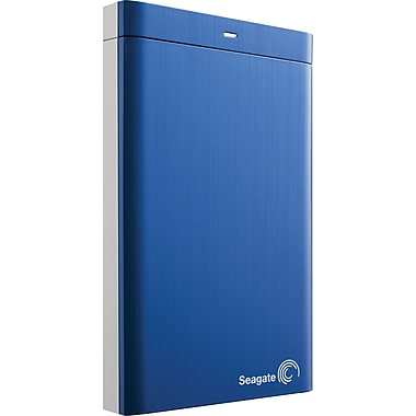 Seagate Backup Plus 1TB Portable USB 3.0 External Hard Drive (Blue)