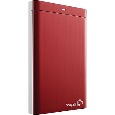 Seagate Backup Plus 500GB Portable USB 3.0 External Hard Drive (Red)