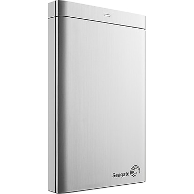 Seagate Backup Plus 1TB Portable USB 3.0 External Hard Drive (Silver)