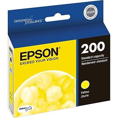Epson 200 Yellow Ink Cartridge, Standard Yield (T200420-S)