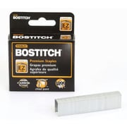 Stanley Bostitch B8 PowerCrown Premium Staples, 1,000/Box