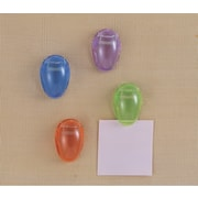 OIC Translucent Cubicle Clips, Assorted, 24 PK