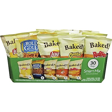 Frito Lay® Better for You Baked Variety Pack, 1.5 oz. Bags, 60 Bags/Case