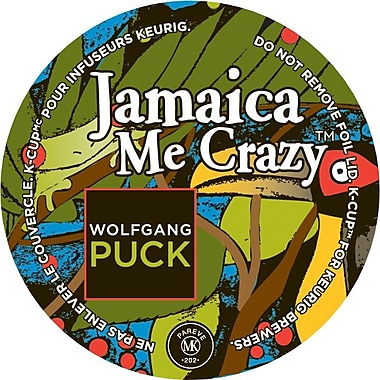 Keurig® K-Cup® Wolfgang Puck Jamaica Me Crazy Coffee, 24/Pack