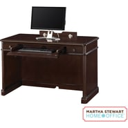 Martha Stewart Home Office Tyler Desk, Molasses Brown