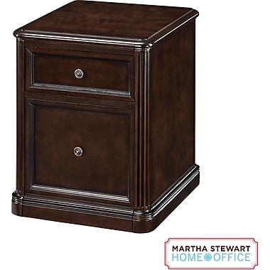 Martha Stewart Home Office Tyler File, Molasses Brown