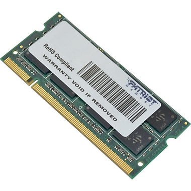 Patriot Signature 4GB (1 x 4GB) DDR2 (200-Pin SO-DIMM) DDR2 800 (PC2 6400) Universal Laptop Memory
