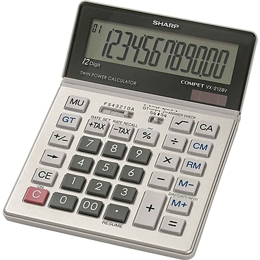 Sharp® VX-2128V 12-Digit Display Calculator