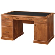 Whalen® Leadenhall Desk, Medium Cherry