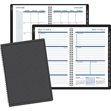 2014 Staples®  Weekly/Monthly Planner, 4-7/8in. x 8in.