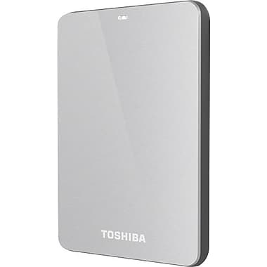 Toshiba Canvio 3.0 1TB Portable USB 3.0 External Hard Drive (Silver)