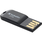 Verbatim Store 'n' Go Micro USB Drive Plus USB 2.0 USB Flash Drive, 32GB, Black