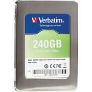 Verbatim 240GB 2.5 SATA III (6 Gb/s) MLC Internal Solid State Drive (SSD)