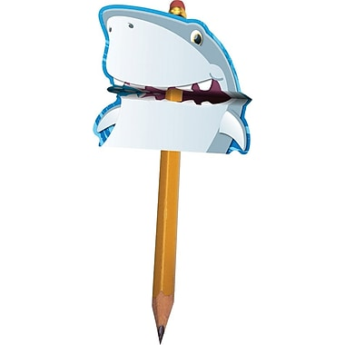 Carson-Dellosa Shark Pencil Toppers