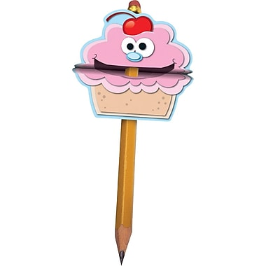 Carson-Dellosa Cupcake Pencil Toppers