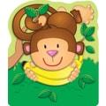 Carson-Dellosa Monkey Bookmarks