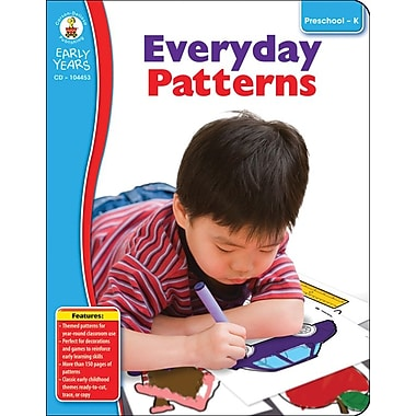 Carson-Dellosa Everyday Patterns Resource Book