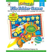Carson-Dellosa Colorful File Folder Games, Grade 2