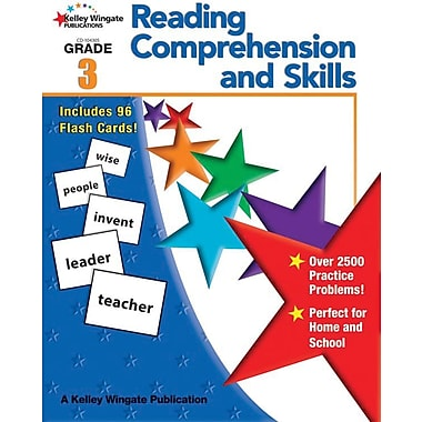 Carson-Dellosa 104305 Grade 3 Reading Comprehension and Skills Workbook