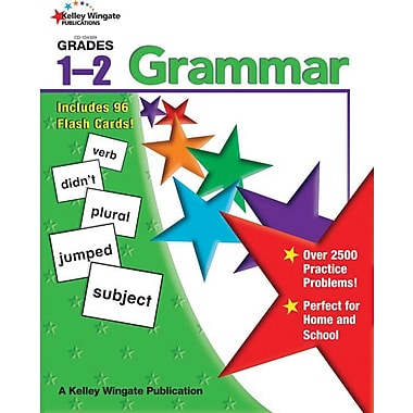 Kelley Wingate Grammar Workbook, Grade 1 - 2