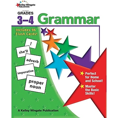 Kelley Wingate Grammar Workbook, Grade 3 - 4