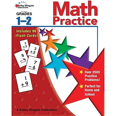 Kelley Wingate Math Practice Workbook, Grades 1 - 2