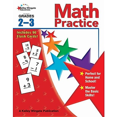 Kelley Wingate Math Practice Workbook, Grades 2 - 3