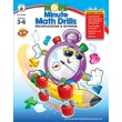 Carson-Dellosa More Minute Math Drills Resource Book, Grades 3 - 6