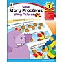 Carson-Dellosa Solve Story Problems Using Pictures Resource Book,