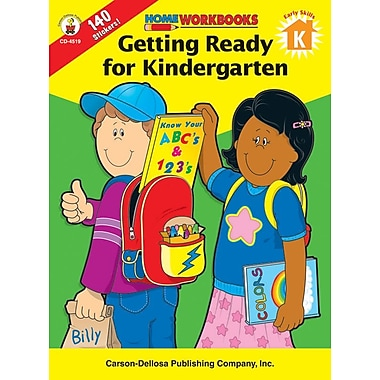 Carson-Dellosa Getting Ready For Kindergarten Workbook