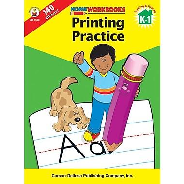 Carson-Dellosa Printing Practice Workbook