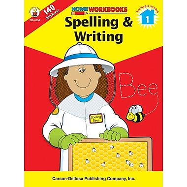Carson-Dellosa Spelling & Writing Workbook