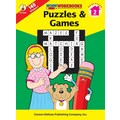 Carson-Dellosa Puzzles & Games Workbook, Grade 2