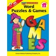 Carson-Dellosa Word Puzzles & Games Workbook, Grade 2