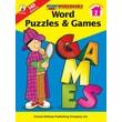 Carson-Dellosa Word Puzzles & Games Workbook, Grade 2