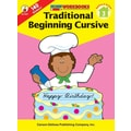 Carson-Dellosa Traditional Beginning Cursive Workbook
